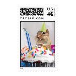 Birthday Party Chipmunk Postage