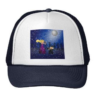 Birthday Party Couple Dancing Trucker Hats