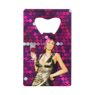 Birthday Party Credit Card Bottle Opener