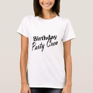 Birthday Party Crew T-Shirt