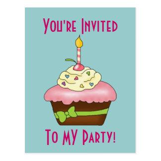 Birthday (Party) Cupcake! Postcard