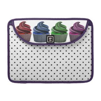 Birthday Party Cupcake Row MacBook Pro Sleeve