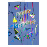 Birthday Party Day Greeting Cards