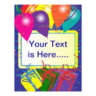 Birthday Party Design Flyer