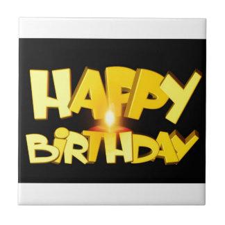 Birthday Party Destiny Gifts Ceramic Tiles