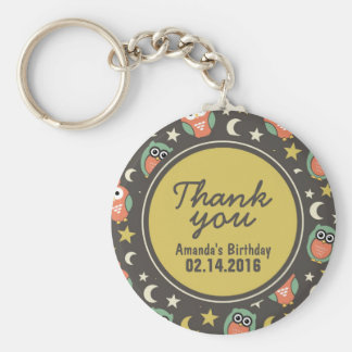 Birthday Party Favor Thank You Gift Keychain