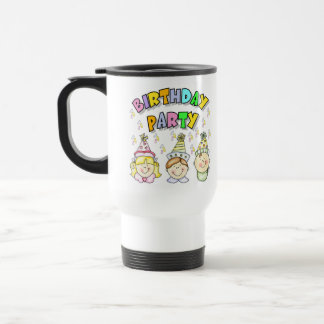 Birthday Party For Kids Travel Mug