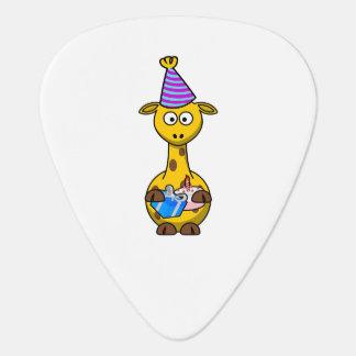 Birthday Party Giraffe Guitar Pick
