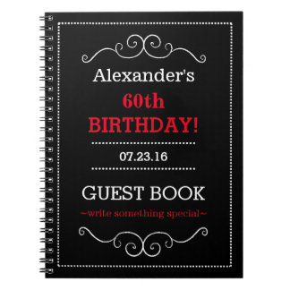 Birthday Party Guest Book- Notebook