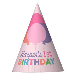 Birthday Party Hat | Colorful Balloons