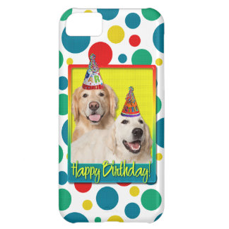 Birthday Party Hat - Golden Retriever Tebow Corona Cover For iPhone 5C