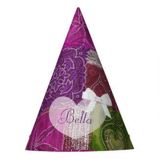 Birthday Party Hat Purple  Quilt