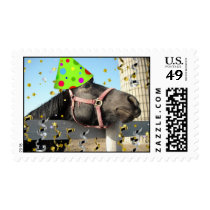 Birthday Party Horse Postage