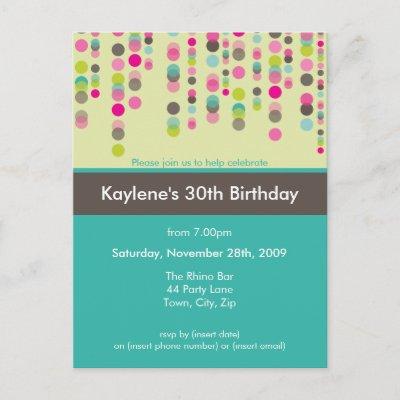 18th birthday invitation designs ideas