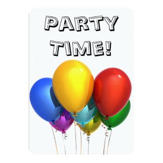 Birthday Party invitation for anyone