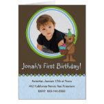 Birthday Party Invitation Greeting Card
