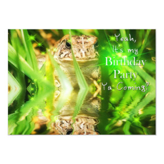 Birthday Party - Invitation - Ya Coming?