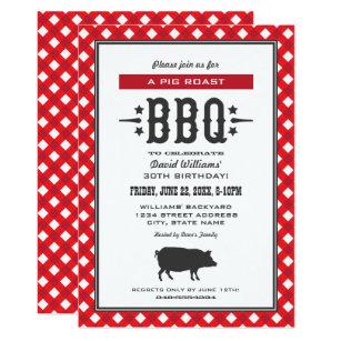 bbq party invitations zazzle