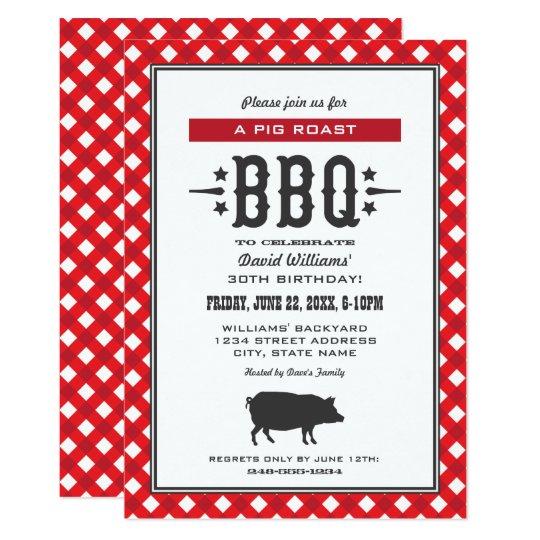 birthday party invitations backyard bbq theme zazzle com