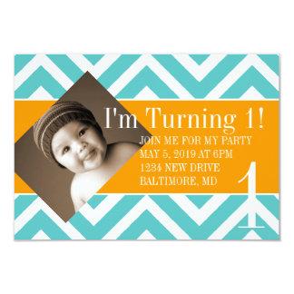 Birthday Party Invite | Turning |chevblu