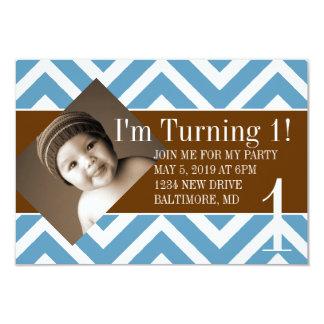 Birthday Party Invite | Turning |chevblubr