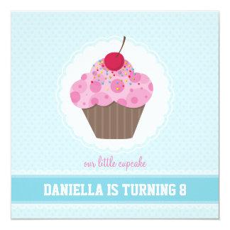 BIRTHDAY PARTY INVITES :: cupcake 5SQ