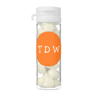 Birthday Party Monogrammed Gum Favors Chewing Gum Favors