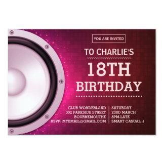 Birthday Party Nightclub Invitation