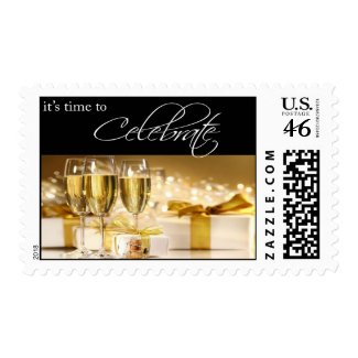 Birthday Party Postage stamp