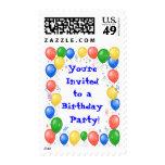 Birthday Party Postage