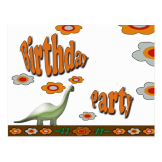 Birthday Party Post Card