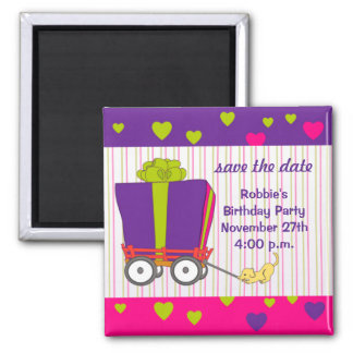 Birthday Party Save The Date Refrigerator Magnets