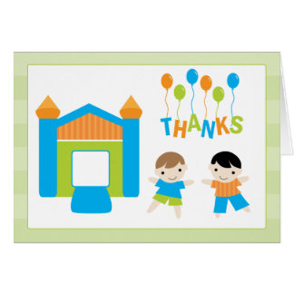Birthday Party Thank You Card