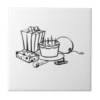 Birthday Party Ceramic Tiles