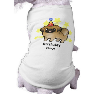 Birthday Pekingese (puppy cut) Tee