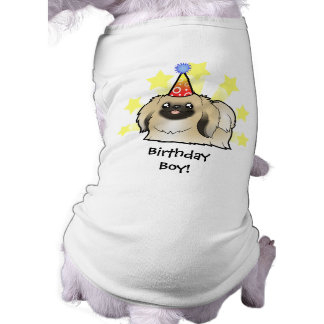 Birthday Pekingese (show cut) Tee