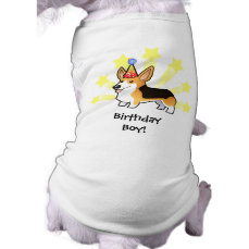 Birthday Pembroke Welsh Corgi Tee