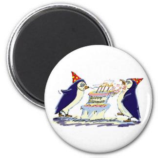 BiRtHdAy PeNgUiNs 2 Inch Round Magnet