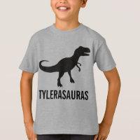 Birthday Personalized Dinosaur Shirt