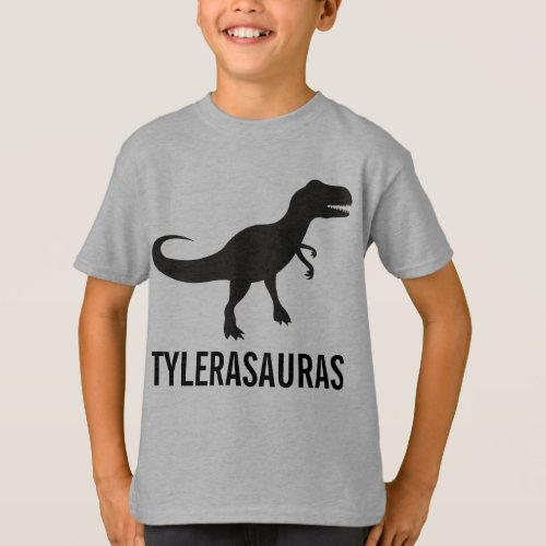 Birthday Personalized Dinosaur Shirt