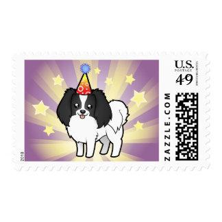 Birthday Phalene / Japanese Chin Postage