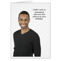 Birthday Photo Card