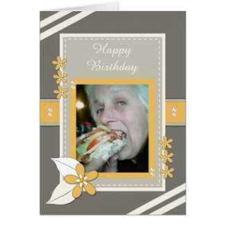 Birthday Photo Card for Mum / Mom
