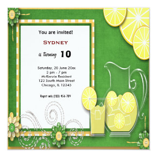 Birthday Picnic Card
