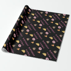 Birthday Picnic Party Wrapping Paper