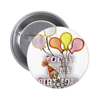 Birthday Pinback Button