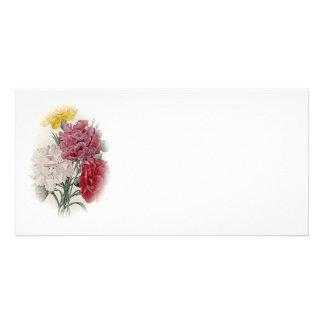 Birthday Pinks - Soft Edged Oval Card