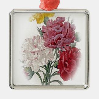 Birthday Pinks - Soft Edged Oval Metal Ornament
