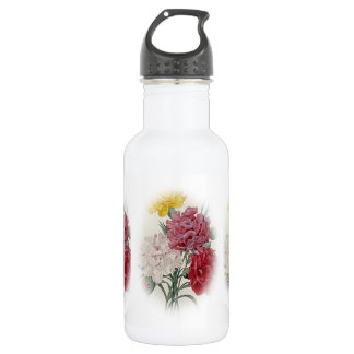 Birthday Pinks - Soft Edged Oval Water Bottle