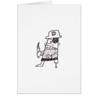 Birthday Pirate Card